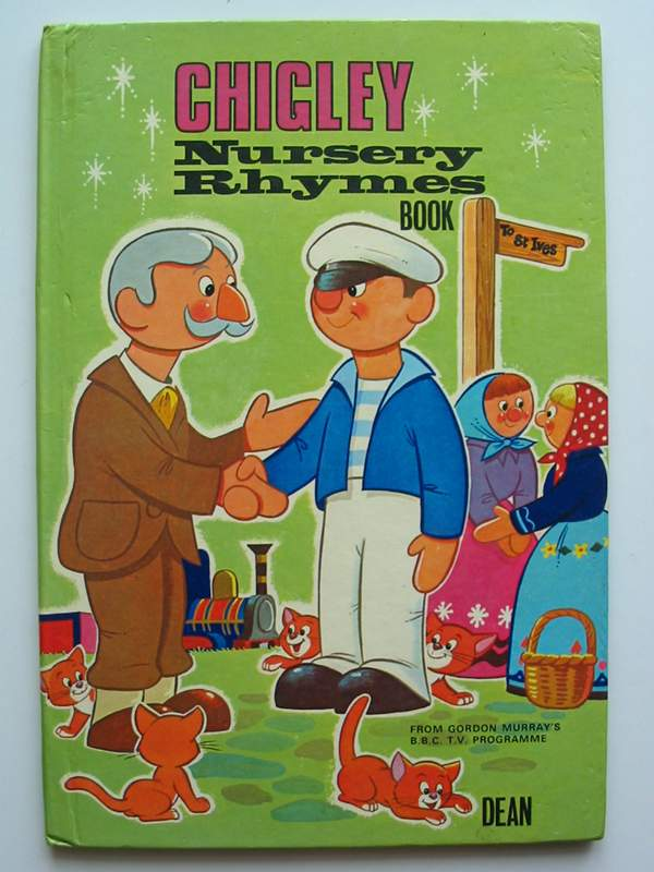Photo of CHIGLEY NURSERY RHYMES BOOK written by Murray, Gordon illustrated by Adby, Peter published by Dean & Son Ltd. (STOCK CODE: 447072)  for sale by Stella & Rose's Books
