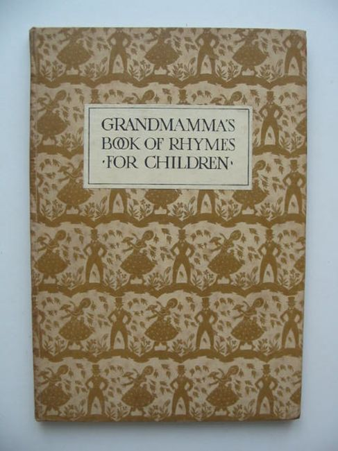 Photo of GRANDMAMMA'S BOOK OF RHYMES FOR CHILDREN written by Turner, Elizabeth illustrated by Cooper, Maud Reed published by Oxford University Press, Humphrey Milford (STOCK CODE: 448398)  for sale by Stella & Rose's Books