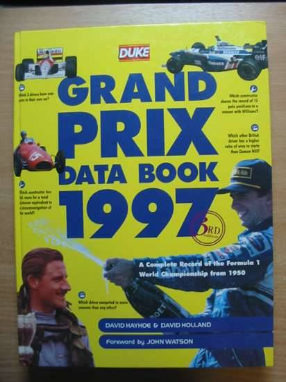 Photo of GRAND PRIX DATA BOOK 1997 published by Duke Marketing (STOCK CODE: 485435)  for sale by Stella & Rose's Books