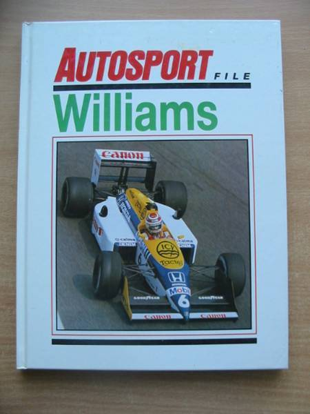 Photo of AUTOSPORT FILE WILLIAMS published by Temple Press (STOCK CODE: 486533)  for sale by Stella & Rose's Books