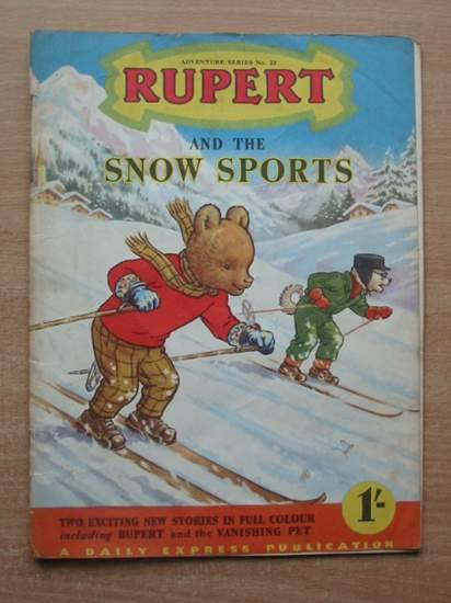 Photo of RUPERT ADVENTURE SERIES No. 23 - RUPERT AND THE SNOW SPORTS written by Bestall, Alfred published by Daily Express (STOCK CODE: 487046)  for sale by Stella & Rose's Books