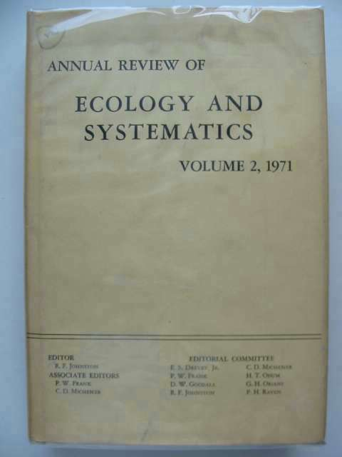 Photo of ANNUAL REVIEW OF ECOLOGY AND SYSTEMATICS VOLUME 2 written by Johnston, Richard F. Frank, Peter W. Michener, Charles D. published by Annual Reviews Inc. (STOCK CODE: 554519)  for sale by Stella & Rose's Books