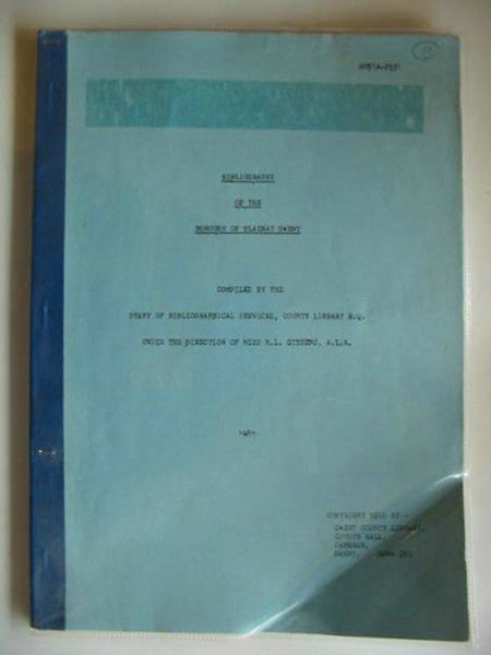Photo of BIBLIOGRAPHY OF THE BOROUGH OF BLAENAU GWENT- Stock Number: 554717
