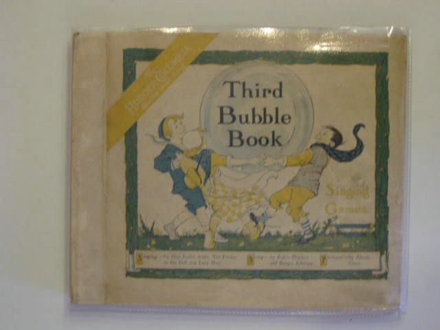 Photo of THIRD BUBBLE BOOK- Stock Number: 557366