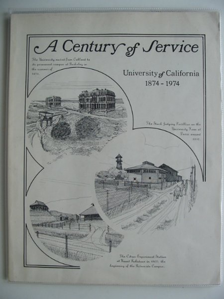 Photo of A CENTURY OF SERVICE written by Horn, Thayer S. published by University of California (STOCK CODE: 557958)  for sale by Stella & Rose's Books