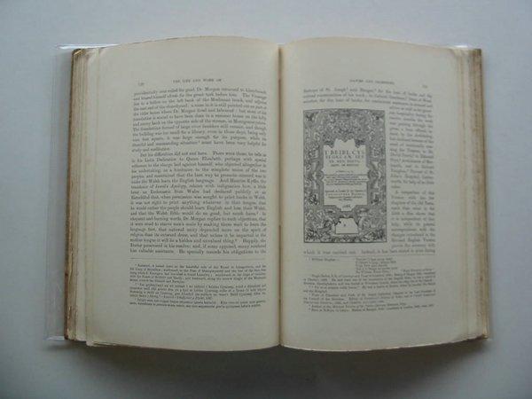 Photo of THE LIFE AND WORK OF BISHOP DAVIES & WILLIAM SALESBURY written by Thomas, D.R. published by Caxton Press (STOCK CODE: 557980)  for sale by Stella & Rose's Books
