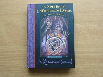 Photo of A SERIES OF UNFORTUNATE EVENTS: THE CARNIVOROUS CARNIVAL written by Snicket, Lemony illustrated by Helquist, Brett published by Egmont Books Ltd. (STOCK CODE: 560867)  for sale by Stella & Rose's Books