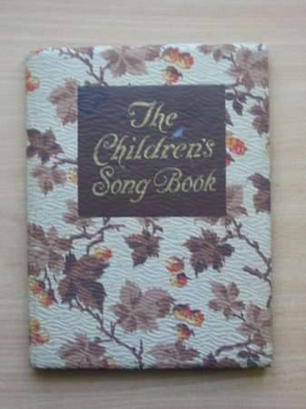 Photo of THE CHILDREN'S SONG BOOK- Stock Number: 568331