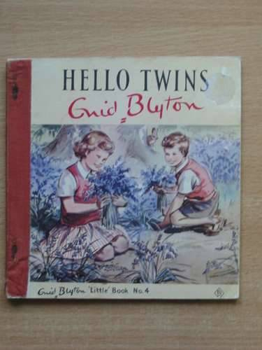 Photo of HELLO TWINS written by Blyton, Enid illustrated by Soper, Eileen published by The Brockhampton Press Ltd. (STOCK CODE: 569335)  for sale by Stella & Rose's Books