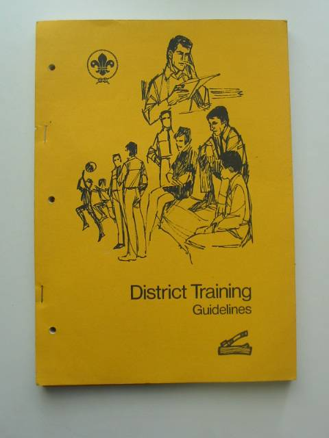 Photo of DISTRICT TRAINING GUIDELINES- Stock Number: 570557