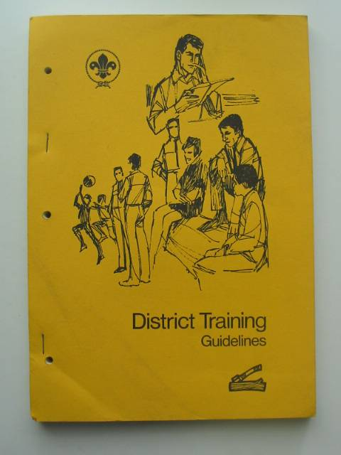 Photo of DISTRICT TRAINING GUIDELINES- Stock Number: 570559