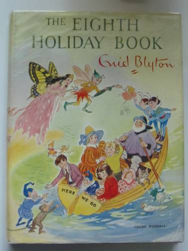 Photo of THE EIGHTH HOLIDAY BOOK written by Blyton, Enid illustrated by Dawson, E.M.