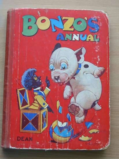 Photo of BONZO'S ANNUAL 1947 written by Studdy, G.E. illustrated by Studdy, G.E. published by Dean & Son Ltd. (STOCK CODE: 571782)  for sale by Stella & Rose's Books