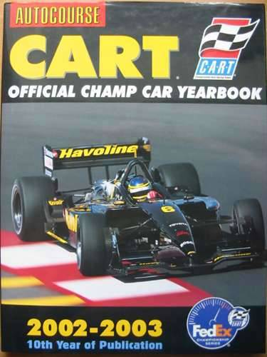 Photo of AUTOCOURSE CART OFFICIAL YEARBOOK 2002-2003 published by Hazleton Publishing (STOCK CODE: 572344)  for sale by Stella & Rose's Books