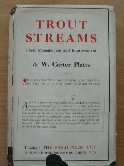 Photo of TROUT STREAMS written by Platts, W. Carter published by The Field Press Ltd. (STOCK CODE: 572808)  for sale by Stella & Rose's Books