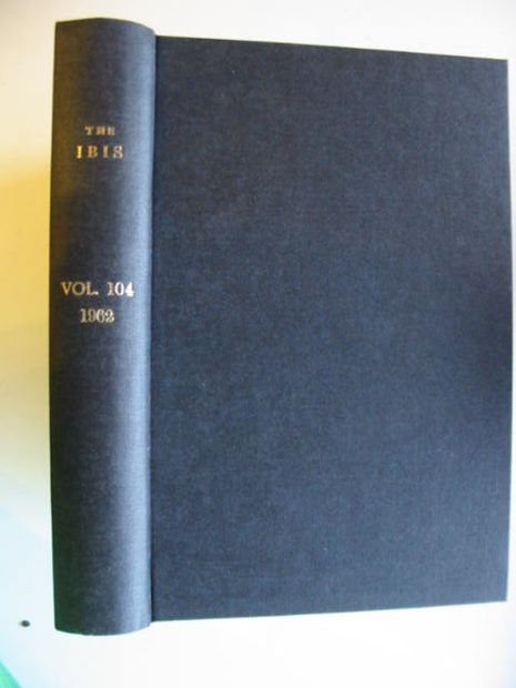 Photo of THE IBIS VOLUME 104 published by British Ornithologists' union (STOCK CODE: 575444)  for sale by Stella & Rose's Books