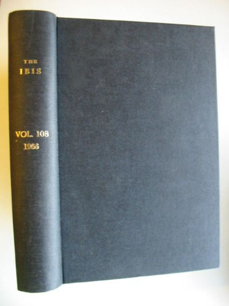 Photo of THE IBIS VOLUME 108 published by British Ornithologists' union (STOCK CODE: 575448)  for sale by Stella & Rose's Books