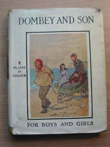 Photo of DOMBEY AND SON RETOLD FOR BOYS AND GIRLS written by Dickens, Charles Jackson, Alice F. illustrated by Blaikie, F.M.B. published by Thomas Nelson and Sons Ltd. (STOCK CODE: 576272)  for sale by Stella & Rose's Books