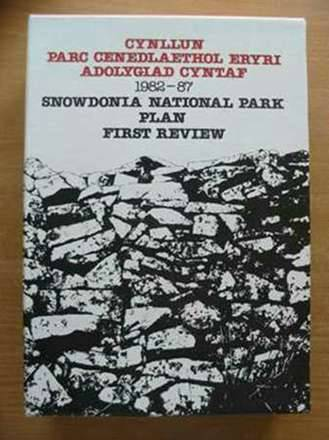 Photo of SNOWDONIA NATIONAL PARK PLAN FIRST REVIEW published by Snowdonia National Park Authority (STOCK CODE: 577266)  for sale by Stella & Rose's Books