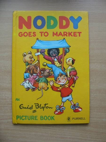 Photo of NODDY GOES TO MARKET written by Blyton, Enid illustrated by Wink,  published by Purnell (STOCK CODE: 578995)  for sale by Stella & Rose's Books