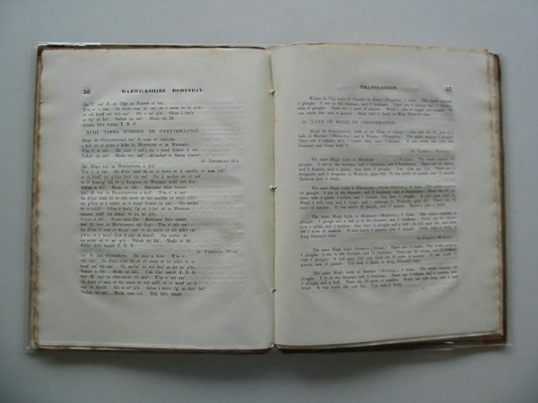 Photo of DOMESDAY BOOK FOR THE COUNTY OF WARWICK written by Reader, William published by W. Reader (STOCK CODE: 581994)  for sale by Stella & Rose's Books