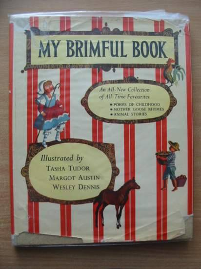 Photo of MY BRIMFUL BOOK written by Bruce, Dana illustrated by Tudor, Tasha Austin, Margot Dennis, Wesley published by Collins (STOCK CODE: 582146)  for sale by Stella & Rose's Books