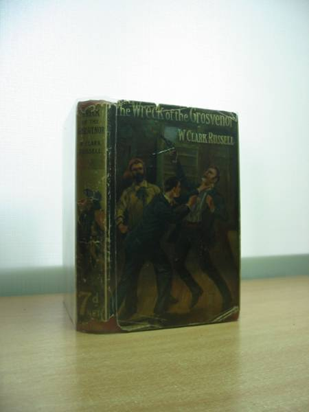 Photo of THE WRECK OF THE GROSVENOR written by Russell, W. Clark illustrated by Lambert, George published by Collins Clear-Type Press (STOCK CODE: 582809)  for sale by Stella & Rose's Books