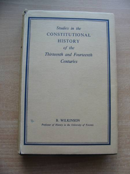 Photo of STUDIES IN THE CONSTITUTIONAL HISTORY OF THE THIRTEENTH AND FOURTEENTH CENTURIES- Stock Number: 583118
