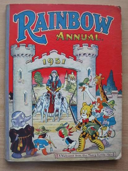 Photo of RAINBOW ANNUAL 1951 published by The Fleetway House (STOCK CODE: 583191)  for sale by Stella & Rose's Books