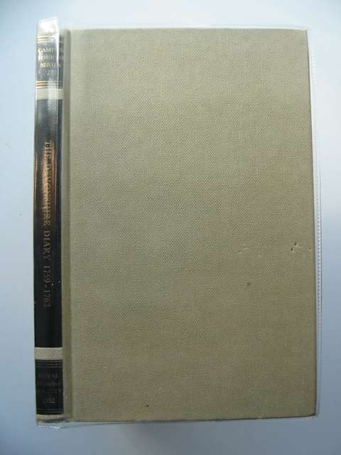 Photo of THE DEVONSHIRE DIARY 1759-1762- Stock Number: 583577