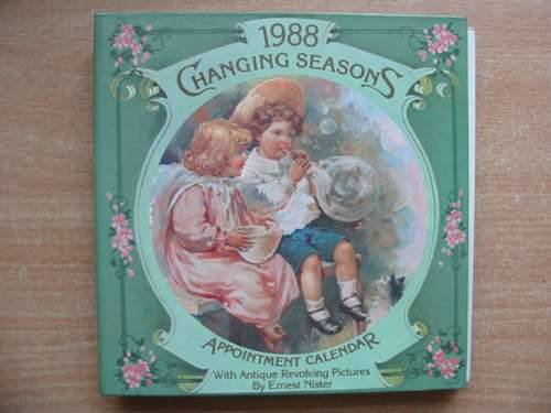 Photo of CHANGING SEASONS 1988 APPOINTMENT CALENDAR- Stock Number: 583820