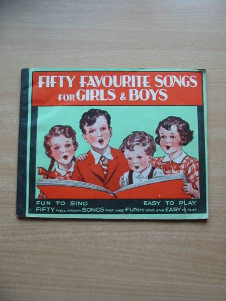 Photo of FIFTY FAVOURITE SONGS FOR GIRLS & BOYS published by T.V. Boardman & Co. Ltd. (STOCK CODE: 585270)  for sale by Stella & Rose's Books
