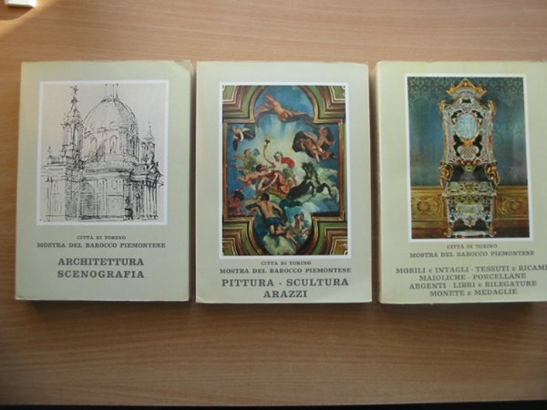 Photo of CITTA DI TORINO MOSTRA DEL BAROCCO PIEMONTESE (3 VOLUMES)- Stock Number: 586198