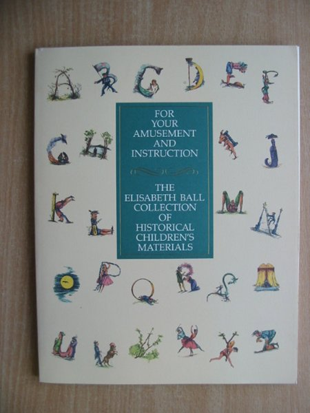 Photo of FOR YOUR AMUSEMENT AND INSTRUCTION- Stock Number: 586463