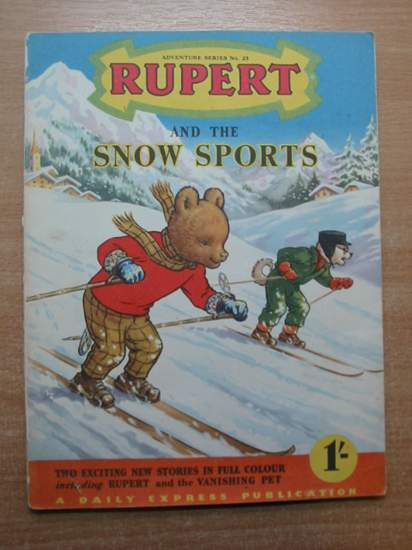 Photo of RUPERT ADVENTURE SERIES No. 23 - RUPERT AND THE SNOW SPORTS written by Bestall, Alfred published by Daily Express (STOCK CODE: 588844)  for sale by Stella & Rose's Books