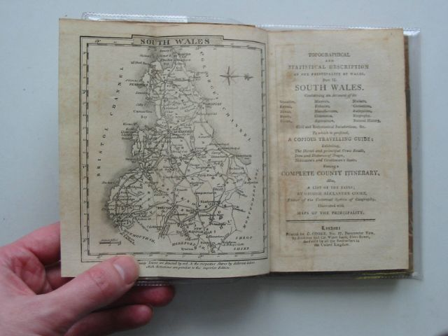 Photo of TOPOGRAPHICAL AND STATISTICAL DESCRIPTION OF THE PRINCIPALITY OF WALES PART II SOUTH WALES written by Cooke, George Alexander published by C. Cooke (STOCK CODE: 588908)  for sale by Stella & Rose's Books