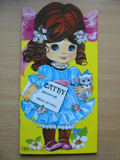 Photo of CATHY DRESSES UP PRESS-OUT DOLL published by Award Publications (STOCK CODE: 589169)  for sale by Stella & Rose's Books