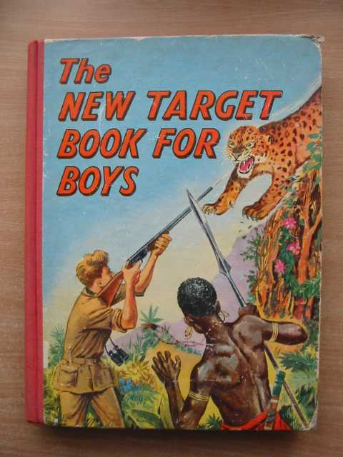 Photo of THE NEW TARGET BOOK FOR BOYS- Stock Number: 589503
