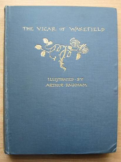 Photo of THE VICAR OF WAKEFIELD written by Goldsmith, Oliver illustrated by Rackham, Arthur published by George G. Harrap & Co. Ltd. (STOCK CODE: 590317)  for sale by Stella & Rose's Books