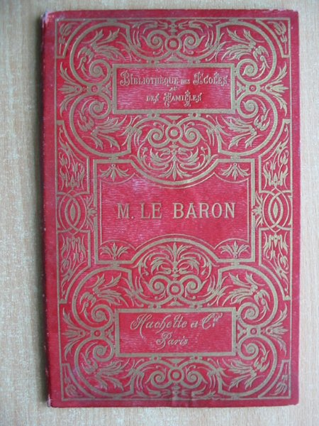 Photo of MONSIEUR LE BARON written by Borius, Julie published by Librairie Hachette (STOCK CODE: 591736)  for sale by Stella & Rose's Books
