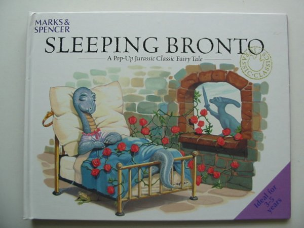 Photo of SLEEPING BRONTO written by Faulkner, Keith illustrated by Kennedy, Graham Lambert, Jonathan published by Marks & Spencer (STOCK CODE: 591796)  for sale by Stella & Rose's Books