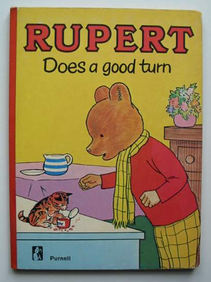 Photo of RUPERT DOES A GOOD TURN- Stock Number: 592540