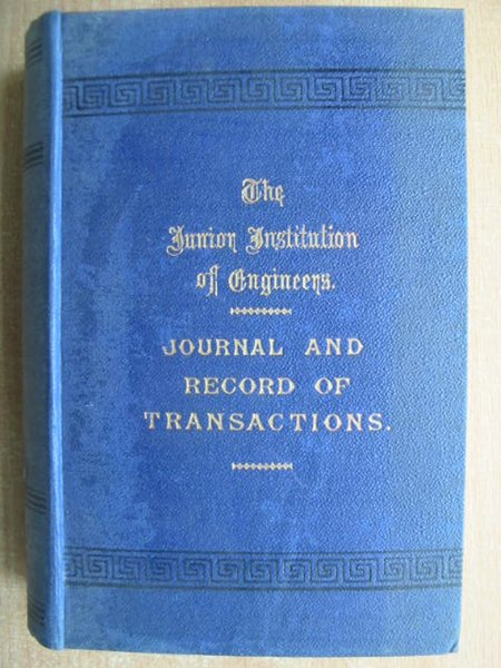 Photo of THE JUNIOR INSTITUTION OF ENGINEERS RECORD OF TRANSACTIONS VOLUME XX written by Dunn, Walter T. published by Percival Marshall And Co Ltd. (STOCK CODE: 592903)  for sale by Stella & Rose's Books
