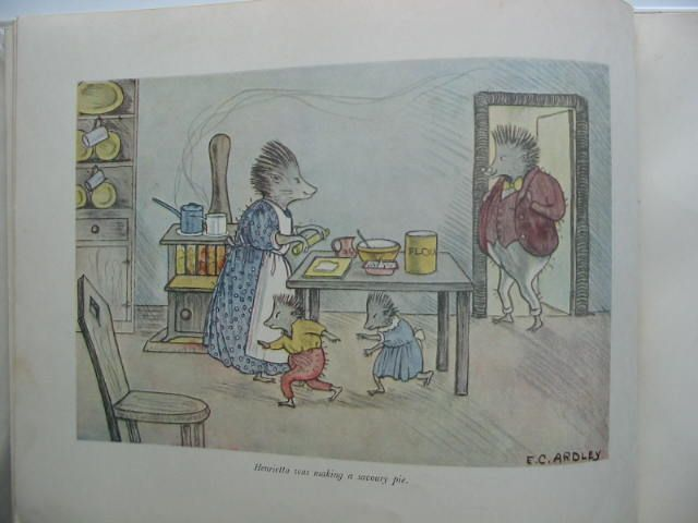 Photo of MR AND MRS HEDGEHOG written by Ardley, Patricia illustrated by Ardley, E.C. published by Collins (STOCK CODE: 593066)  for sale by Stella & Rose's Books