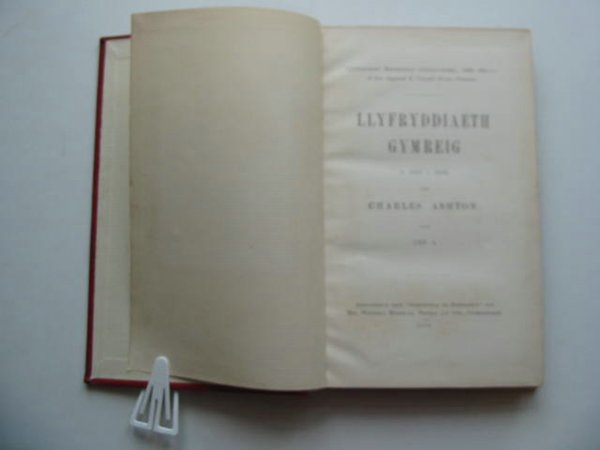 Photo of LLYFRYDDIAETH GYMREIG O 1801 I 1810 written by Ashton, Charles published by Gymdeithas Yr Eisteddfod (STOCK CODE: 593148)  for sale by Stella & Rose's Books