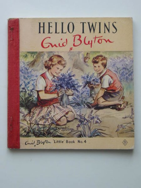 Photo of HELLO TWINS written by Blyton, Enid illustrated by Soper, Eileen published by The Brockhampton Press Ltd. (STOCK CODE: 593711)  for sale by Stella & Rose's Books
