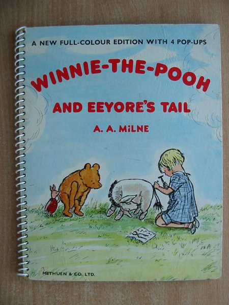 Photo of WINNIE-THE-POOH AND EEYORE'S TAIL written by Milne, A.A. illustrated by Shepard, E.H. published by Methuen & Co. Ltd. (STOCK CODE: 593895)  for sale by Stella & Rose's Books