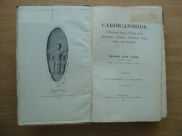 Photo of CARDIGANSHIRE written by Evans, George Eyre published by Welsh Gazette (STOCK CODE: 593980)  for sale by Stella & Rose's Books