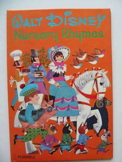 Photo of WALT DISNEY NURSERY RHYMES written by Disney, Walt illustrated by Disney, Walt published by Purnell (STOCK CODE: 594124)  for sale by Stella & Rose's Books