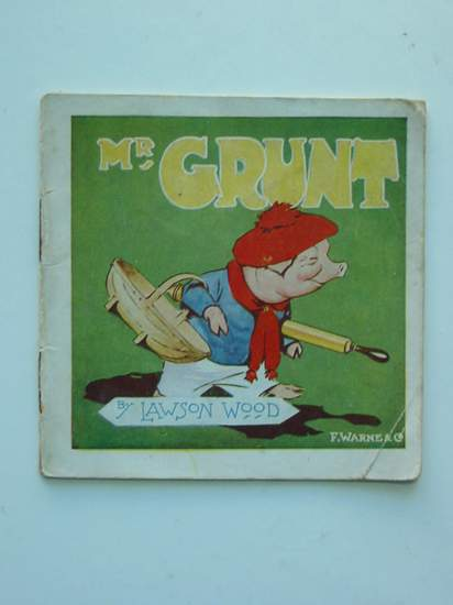 Photo of MR GRUNT - HOW HE SPENDS HIS HOLIDAYS- Stock Number: 594854